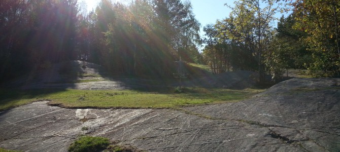 Frisbeegolf for barneskolebarn i høstferien