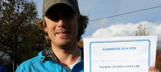 Tom-Henrik Sandvik er klubbmester 2014