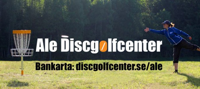 Gratis klubbtur til Ale Discgolfcenter – 10.-12. april