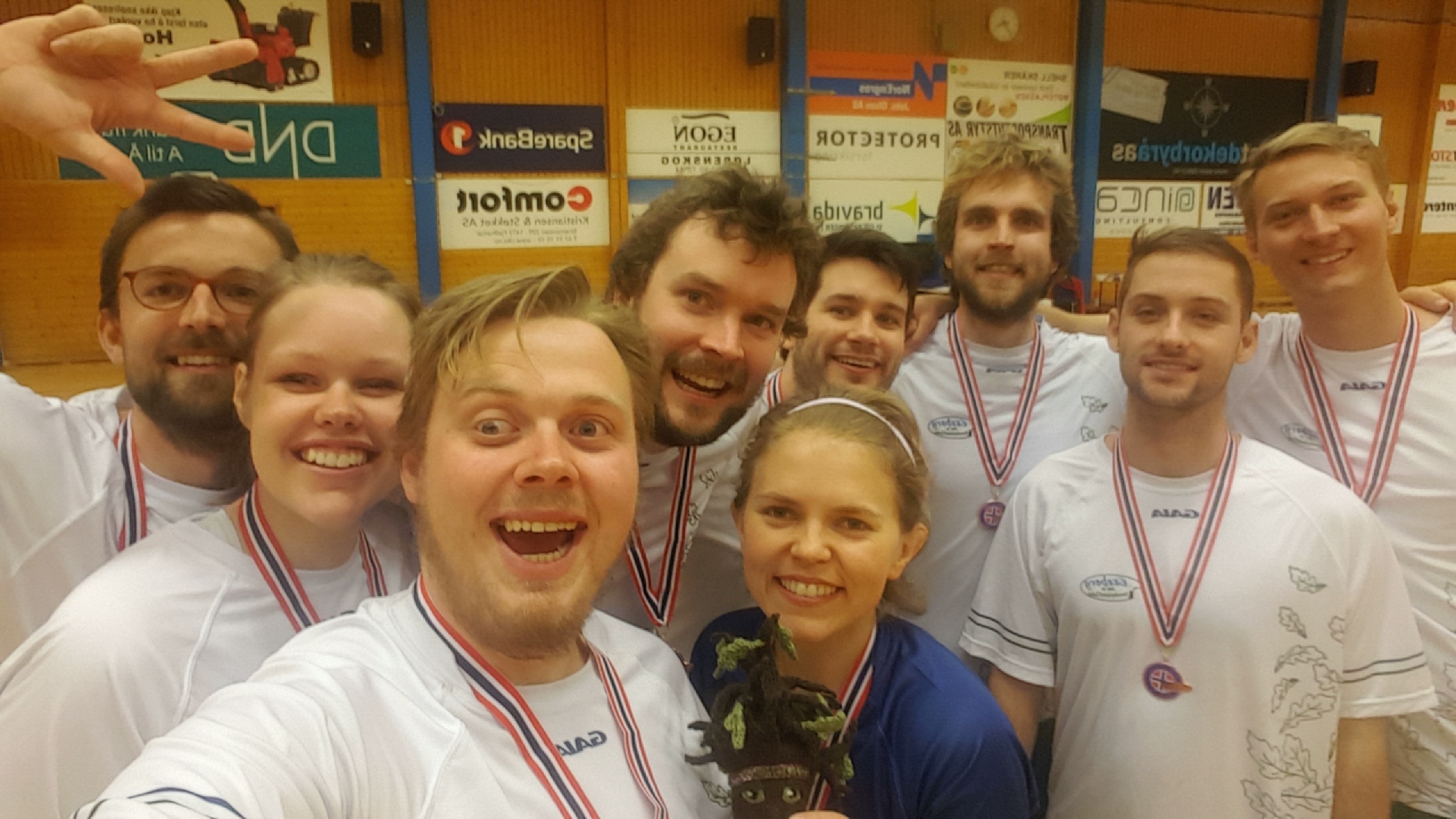 Selfie tid etter 3.plass ultimate NM 2016