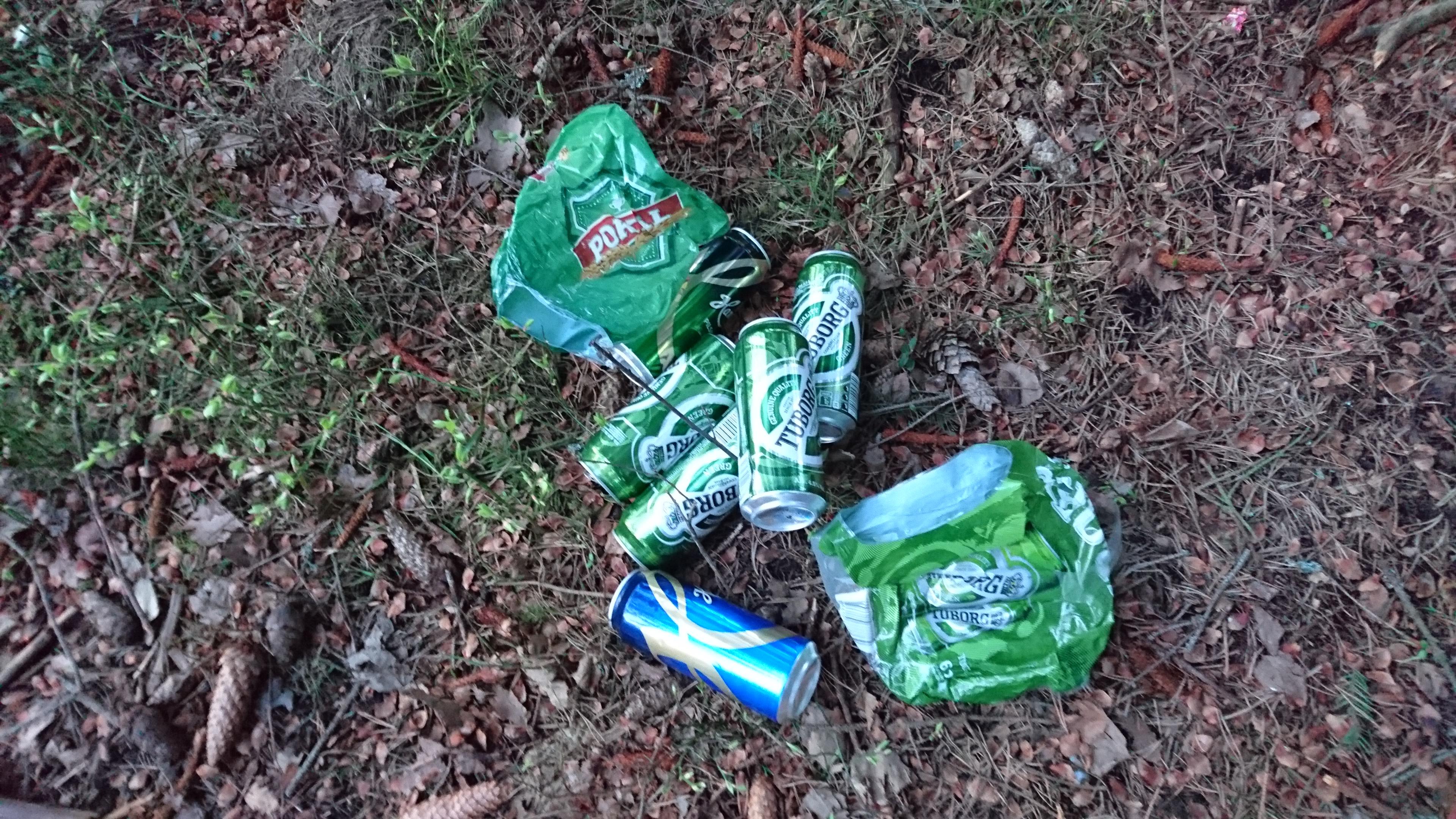 Til deg som forsøpler på Ekeberg – rydd etter deg!